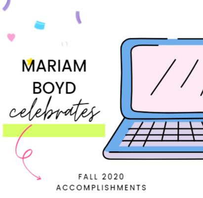 Mariam Boyd Celebrates Student Success