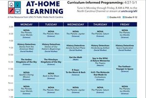At Home Learning Resources on PBS This Week