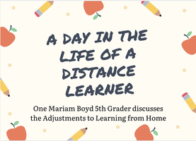 A Day in the Life of a Distance Learner