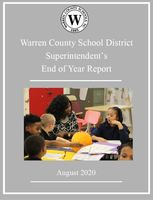 Superintendent Presents End of Year Report