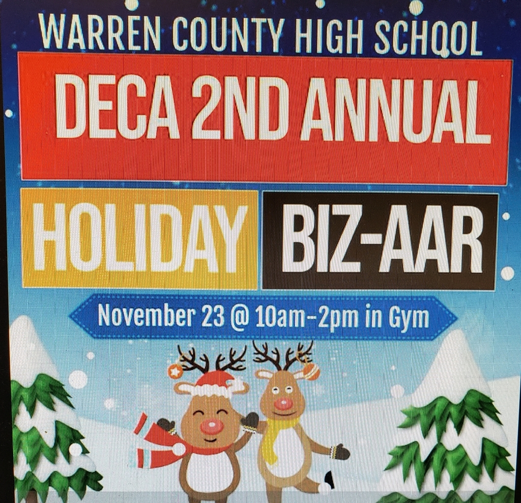 "DECA 2nd Annual Holiday PPP-up ""BIZ-AAR"""