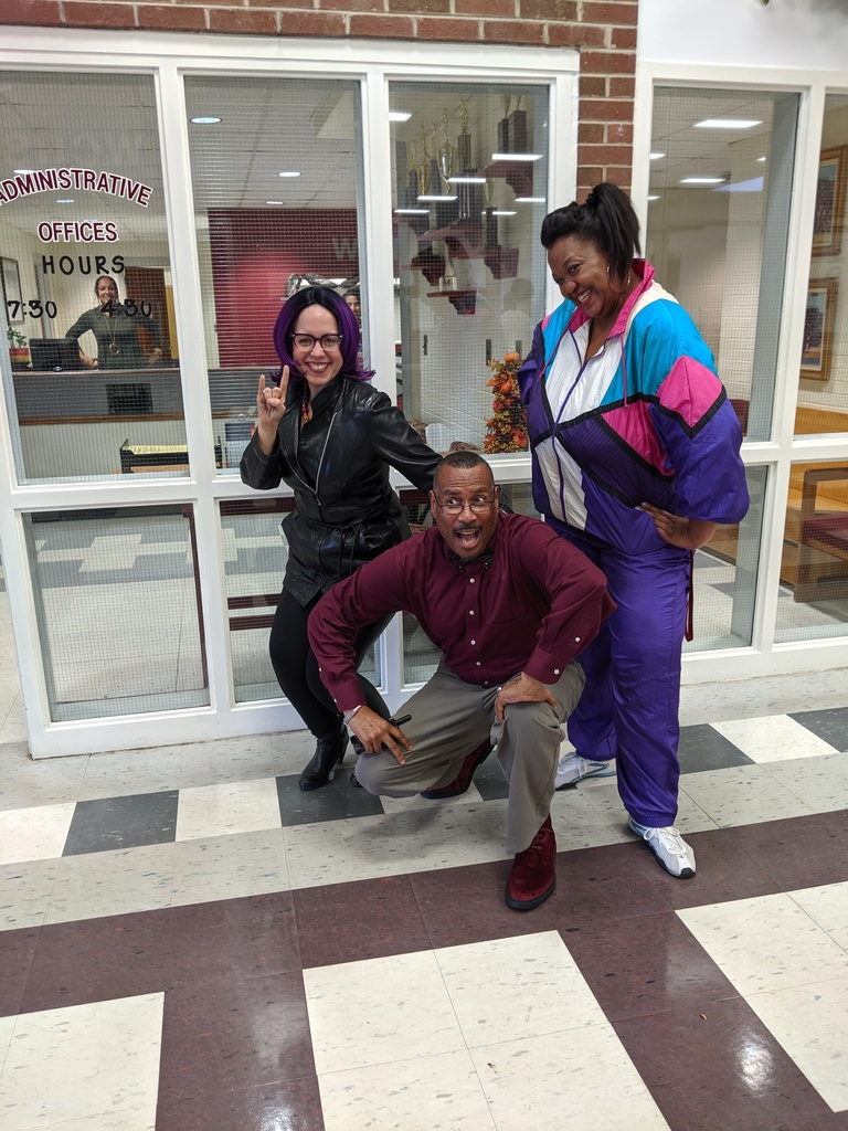 Staff Celebrate Spirit Week