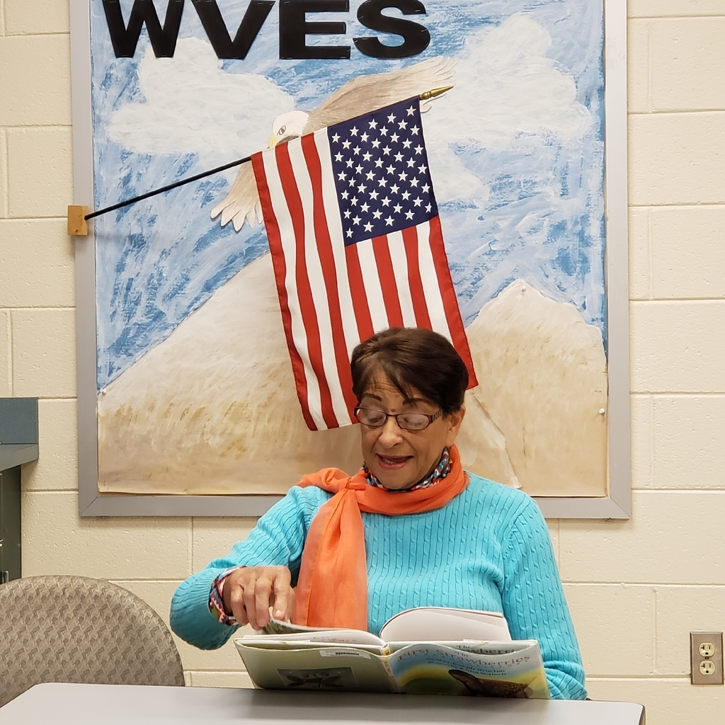Mrs. Brayboy reading to our students in honor of American Indian Heritage Month.