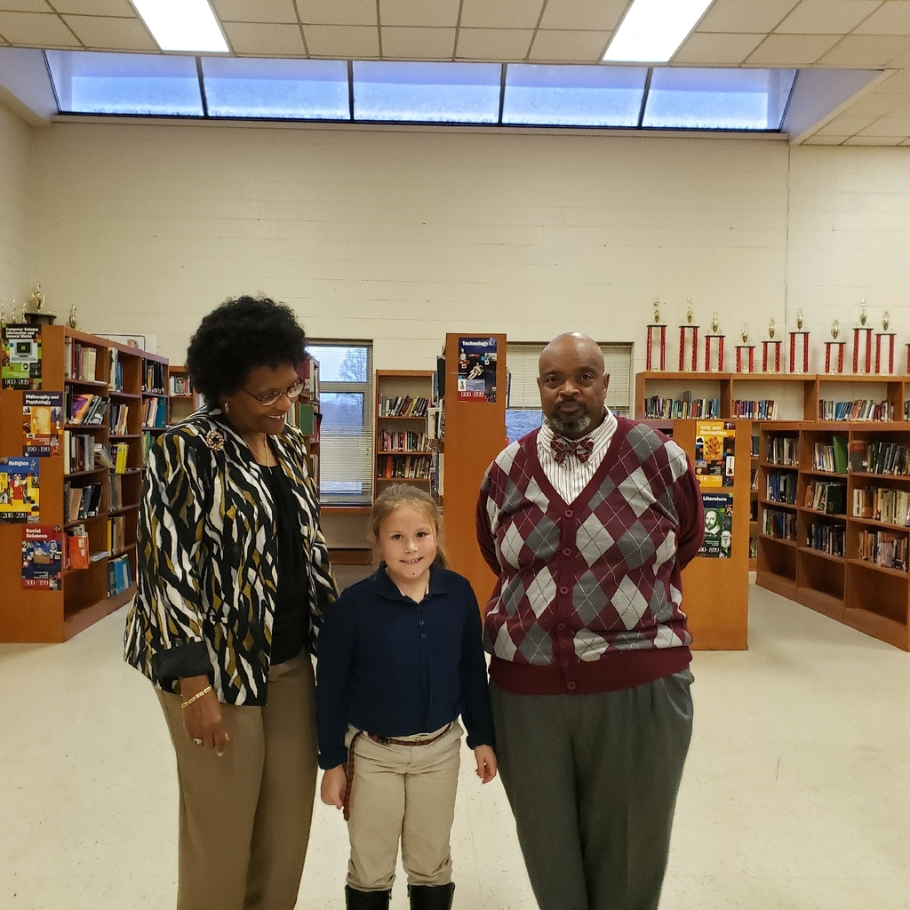 Dr. Linda Mason with Anna Grace Paynter and Mr. Stanley Harrelll