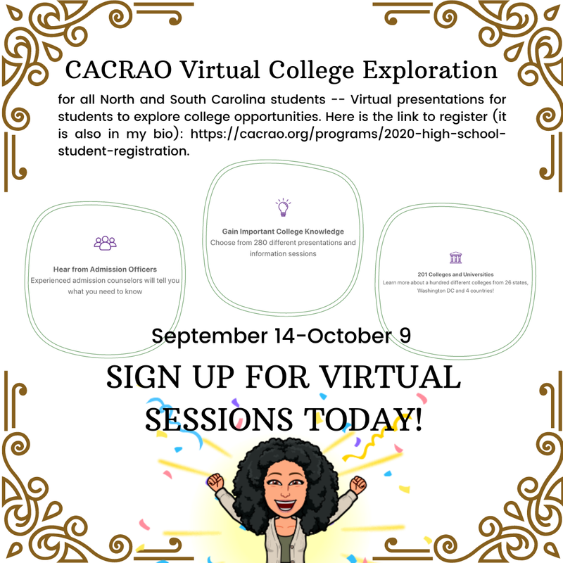CACRAO Virtual College Exploration