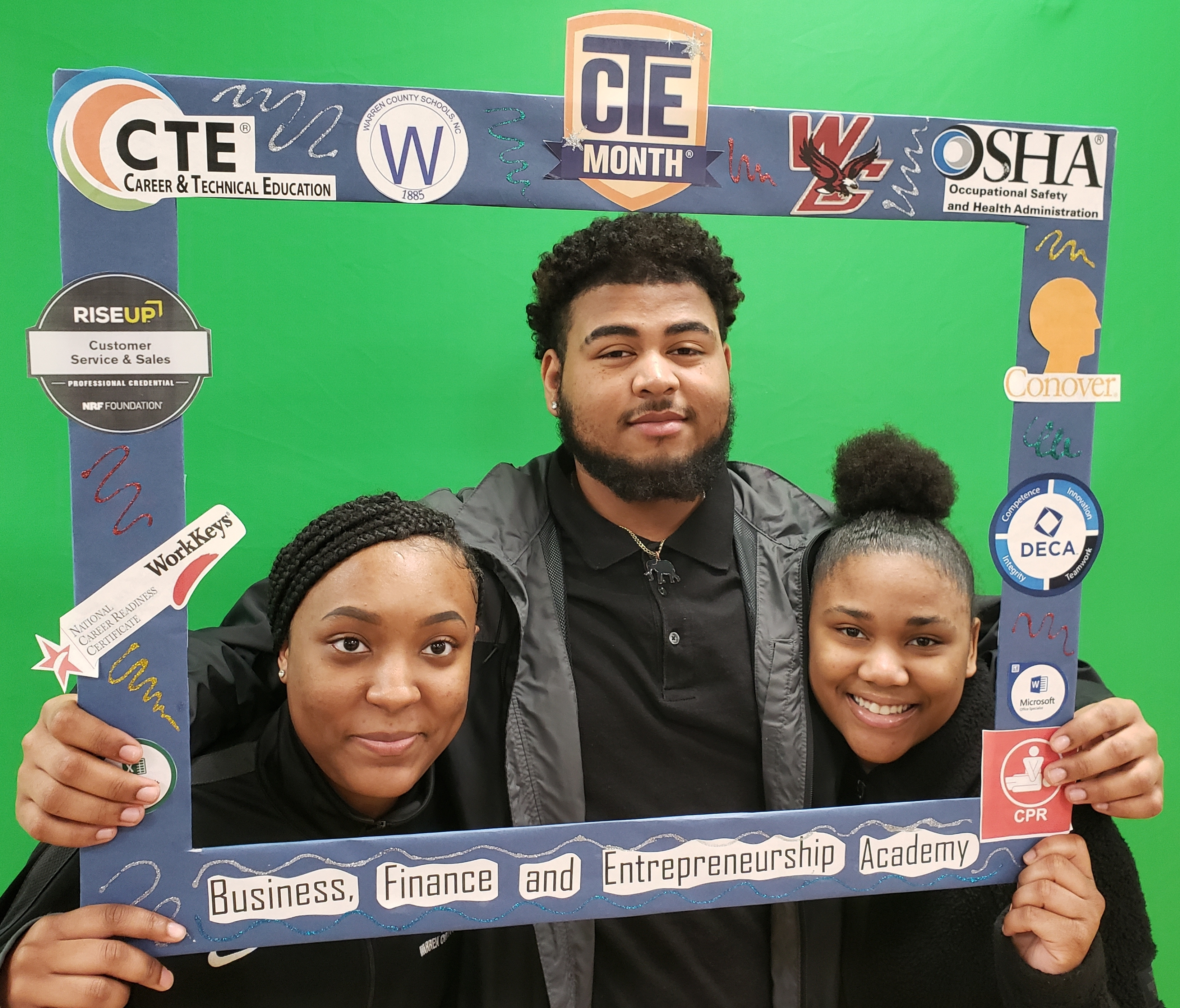 CTE MONTH CELEBRATES BUSINESS & MARKETING